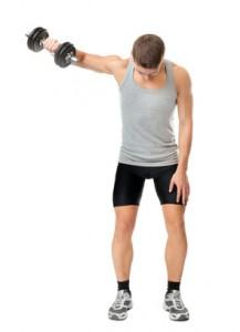 Training der Schulter